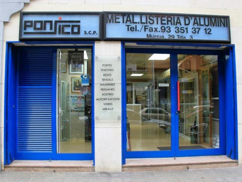 Ponsico barcelona m rcia 29 carpinter a de aluminio - Carpinteria de aluminio murcia ...